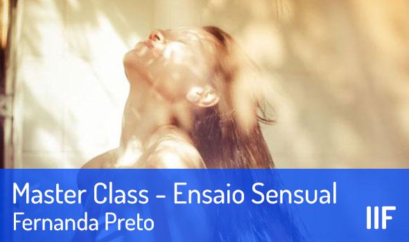 Master Class de Ensaio Sensual